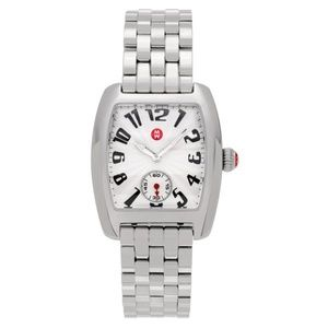 MICHELE Silver Mini Urban Stainless Steel Watch